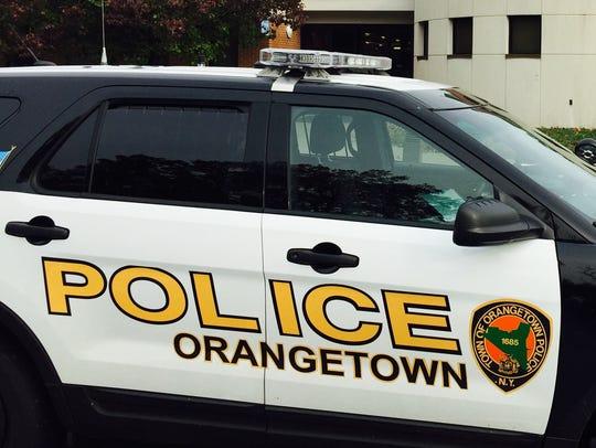 Undated photo of an Orangetown police cruiser.