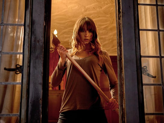 Erin (Sharni Vinson) takes the fight to her attackers