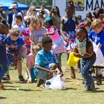 PHOTOS: Pensacola Parks and Recreation's Easter Egg Hunt