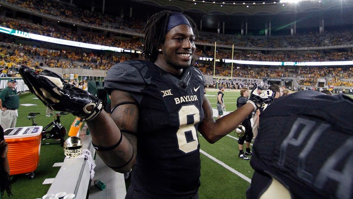 Video of Baylor receiver whipping dog led to three-game suspension