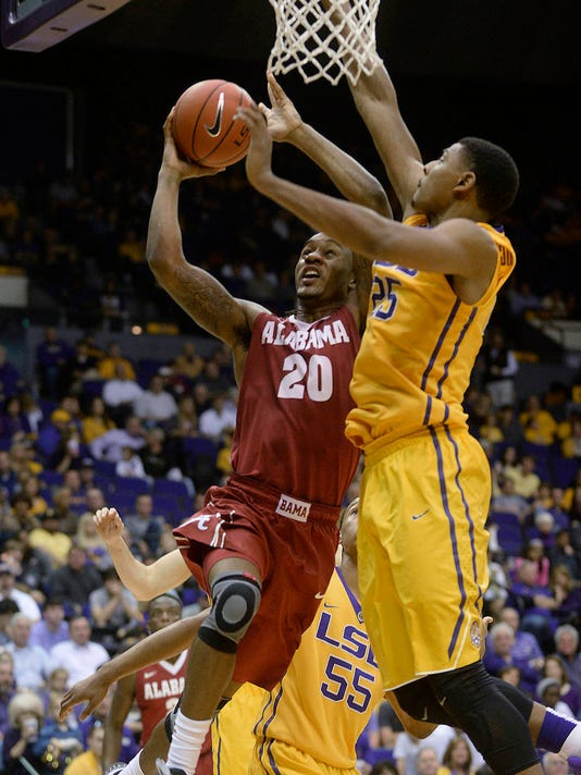 Alabama LSU Basketball