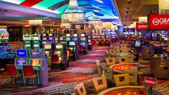 Grand Sierra Resort newly remodeled casino floor.