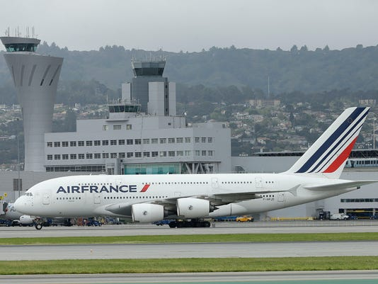 AP AIR FRANCE A USA CA