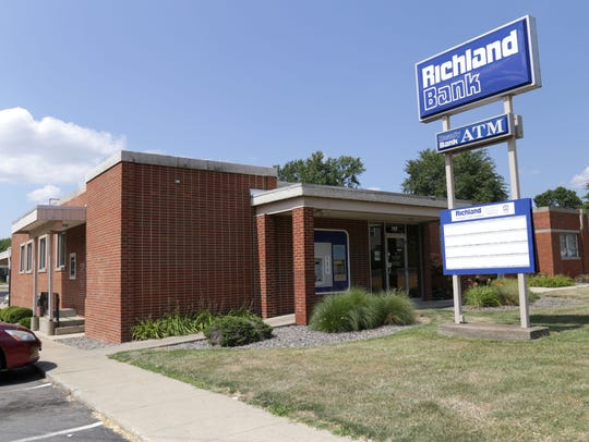 The Richland Bank branch on Ashland Road has recently