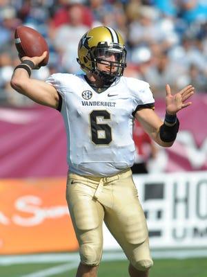 Vanderbilt Commodores quarterback Austyn Carta-Samuels has kept his focus this season despite being incorrectly brought into the Vanderbilt rape case