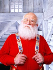 Ed Asner plays a role he's tackled several times, Santa