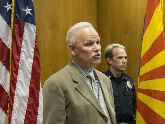 Tucson Police Chief Chris Magnus