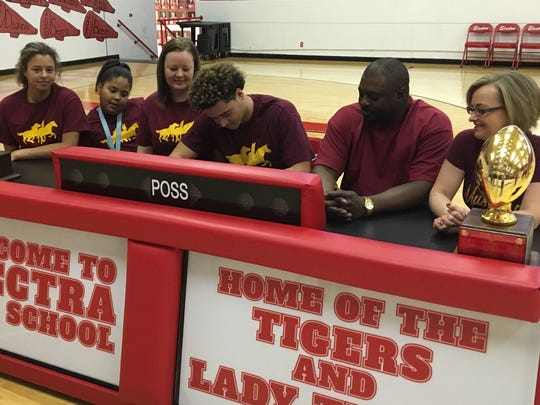 With his family by his side, Electra's Xavier Waggoner signed a national letter of intent Wednesday to play football at Midwestern State. Waggoner was an all-state defensive lineman for the Tigers and this past season's Red River 22 Defensive MVP.