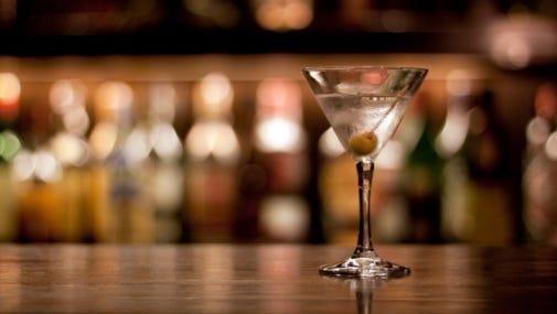 Stock image: Martini
