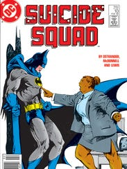 "Amanda Waller has a point to make to Batman in ""Suicide"