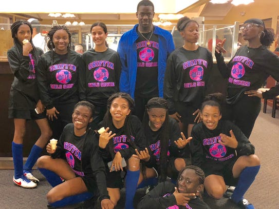 The Griffin Middle School girls soccer team went 10-0