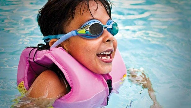 Dr. Kadrmas-Iannuzzi notes that parents sometimes assume their children can swim better than they actually can.
