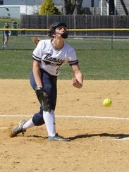 Ramsey's Victoria Sebastian tossed a one-hitter with