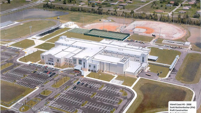 The last high school to be built, Island Coast in Cape Coral, which came in $20 million over budget.