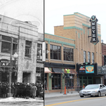 Meyer Theatre, then and now