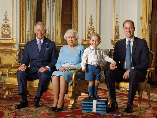 The royal heirs together