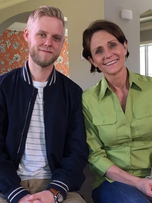"""Bobbie Ramsey and her son Dean Ferguson  hunt for a new home in Louisville on HGTV """"House Hunters"""" Monday, Jan. 9"""