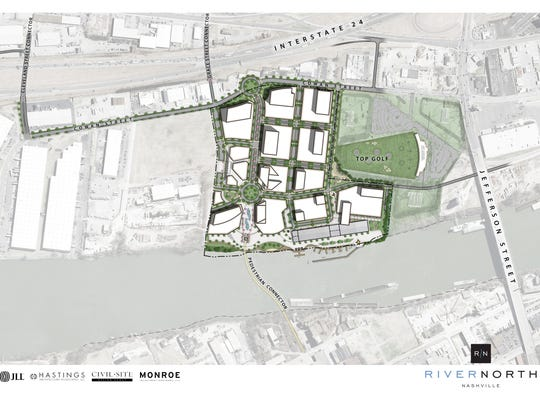 Phase one of River North