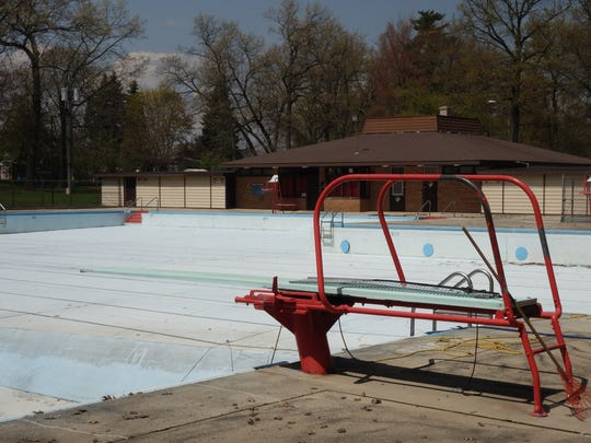 The Colburn Park pool remains empty as city officials work on a plan to replace or repair the aging facility on Green Bay's west side.