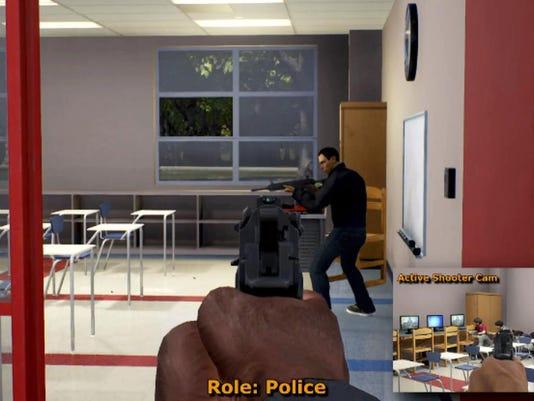 Active Shooter Simulation