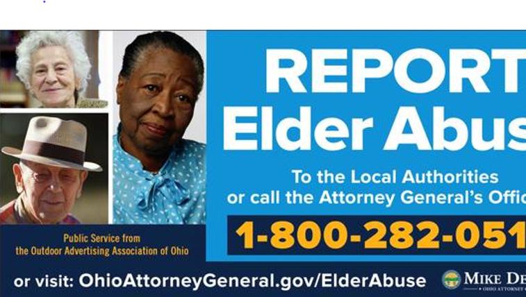 Elderly Abuse Billboard