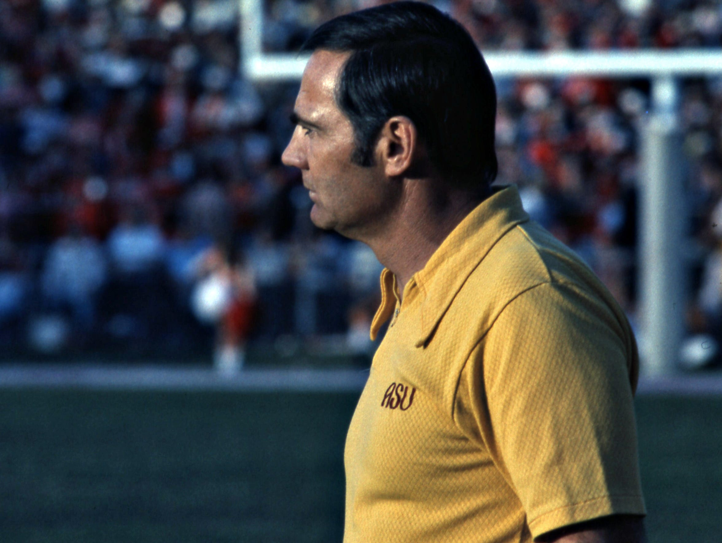 Frank Kush's ASU teams made the Western Athletic Conference