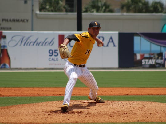 Junior left-hander Stevie Powers is one of several candidates for a spot in Southern Miss' starting rotation this season.