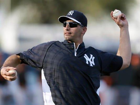 Orioles Yankees Spring Baseball