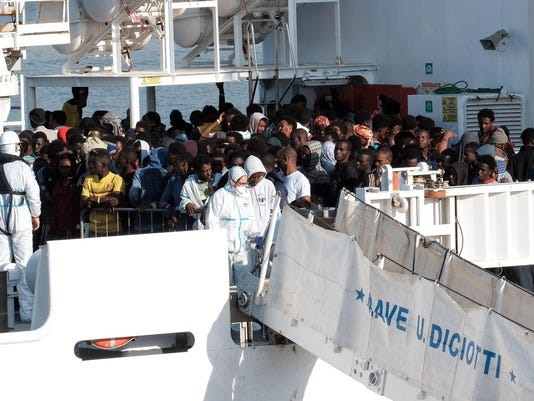 ITALY-EUROPE-MIGRANTS-RESCUE