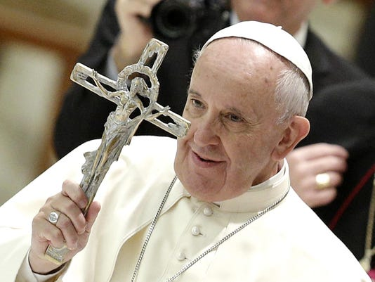 Pope Francis receives Health Care Workers