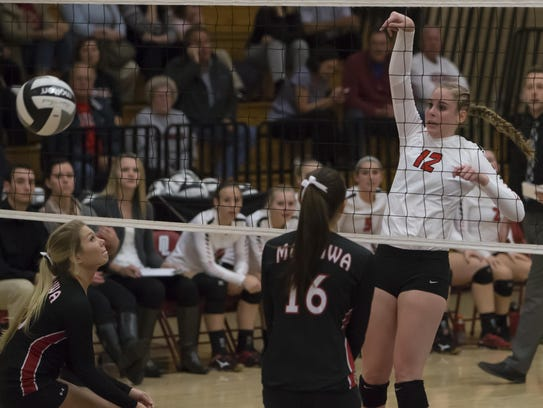 Lourdes volleyball finally got over the hump this past