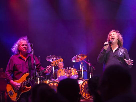 Kansas, pictured in 2016, performs Friday at Morongo