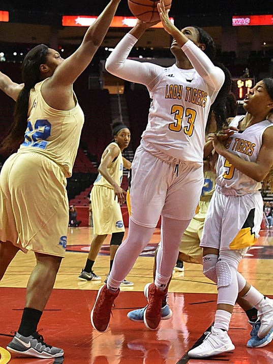 grambling girls Grambling -- the grambling state university women's basketball team had four players reach double figures in scoring as the lady tigers rolled past alabama a&m, .