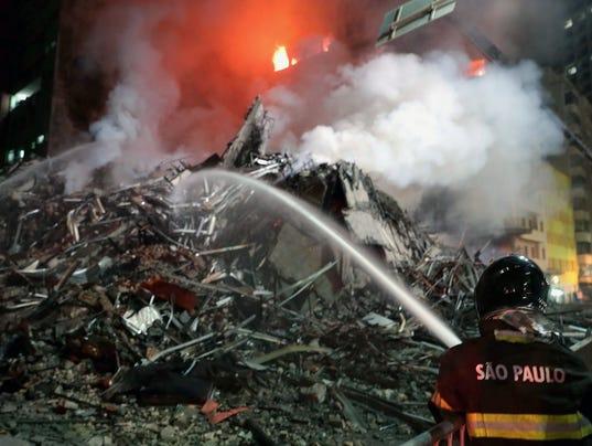 EPA BRAZIL FIRE DIS FIRE BRA SÃ