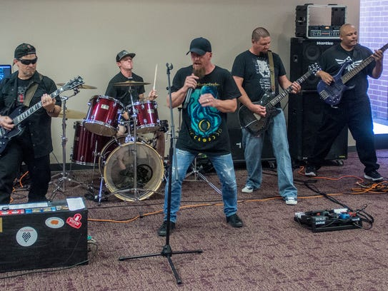 Enterprise metal band CloZure at the Montgomery Advertiser