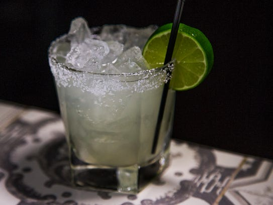 This is a margarita from the Ladera Taverna y Cocina