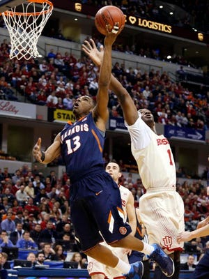 Illinois announced senior point guard Tracy Abrams will miss the 2014-15 season with a torn ACL.