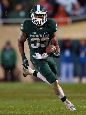 Running back Jeremy Langford rushed for 1,422 yards and scored 18 touchdowns last season.