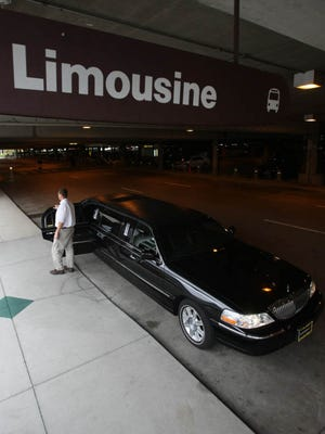 The Metro Transportation Licensing Commission requires that certified limousines have a decal on the passenger side of the rear window, and approved drivers have a permit.