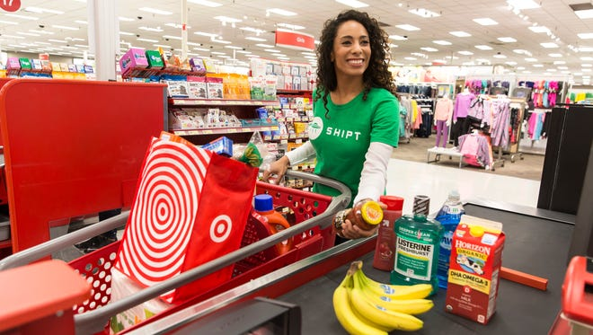 Shoppers can purchase either a yearly or monthly Shipt membership. A yearly membership costs $99, while a monthly is $14.