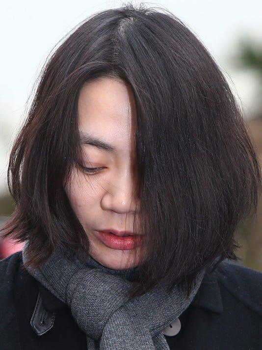 Seoul district court announce verdict on nuts rage case