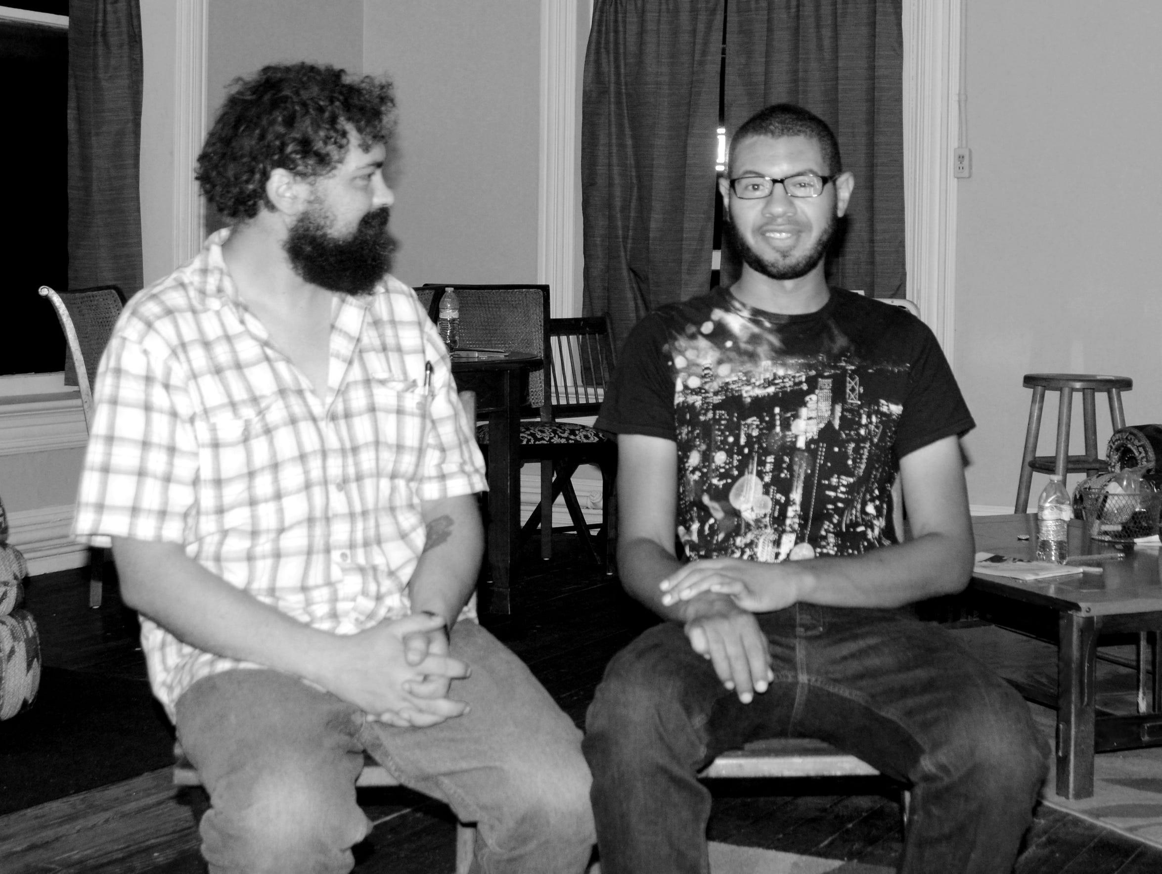 Staunton filmmakers Angus Carter and Edmond Marchetti