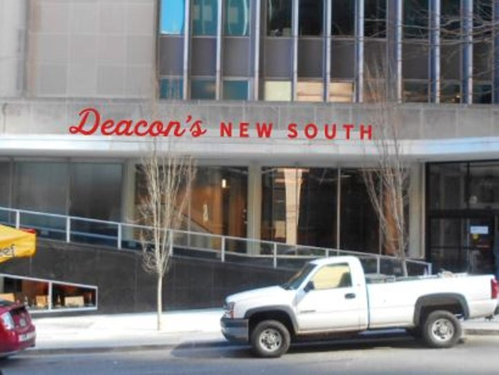 Deacon's New South will occupy the first floor of L&C