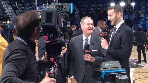 Nik Stauskas reporting for TSN.