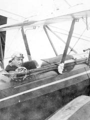 Mad River Glen founder Roland Palmedo was a naval aviator in both World War I and World War II. He later flew his biplane with his skis strapped to its side in search of good snow and a place for his new ski venture.