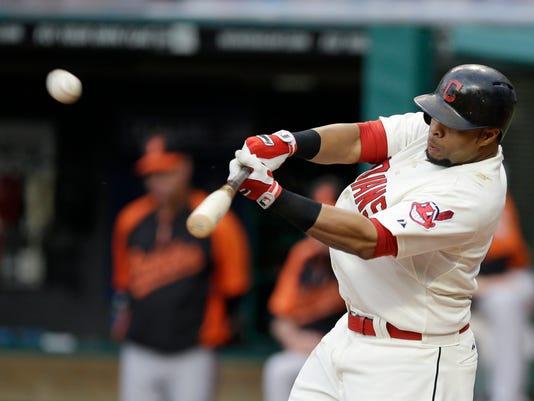 Orioles Indians Baseball