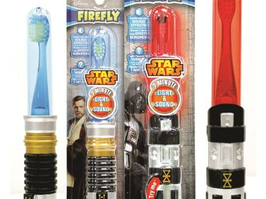 Star Wars toothbrushes are $4.99.