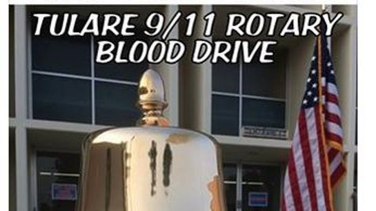 Tulare's blood drive netted 1,129 pints on Friday.
