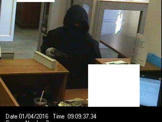 Police are looking for this suspect, who robbed M&T