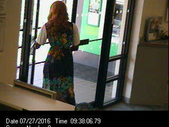 The Springettsbury Township bank robber, with a long